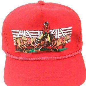 Cowboy Rodeo Horse Wrangler Truckers Baseball Hat